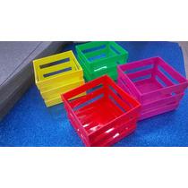 Canastas Porta-objetos (4 Pzs) Multicolor. Envío Gratis