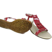 Sandalias Clasico Con Flecos Zapatos Nueva Temporada