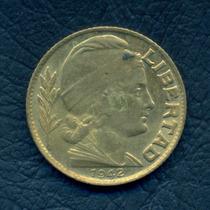 Moneda Argentina 1942 20 Centavos (fecha Chica) Cj#196.2