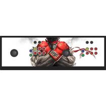 Controle Arcade Duplo Tipo Fliperama Play 1 Play 2 Play 3 Pc