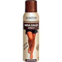 Maquiagem Para Pernas Meia-calça Spray Bege Escuro..
