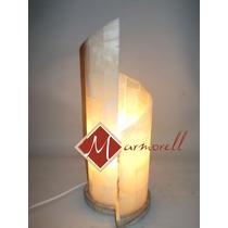 Lámpara De Onix Espiral 42 Cm Alto Envío Gratis $550.00