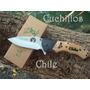 Cuchillo Elk Ridge Grabado Con Leyenda