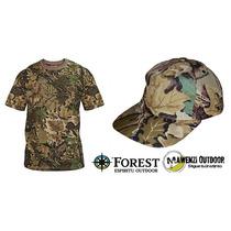 Conjunto Deportivo Camuflado Caza Camping Forest Leather
