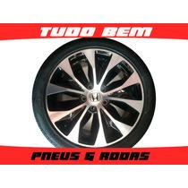 Roda New Civic 17 + Pneu 205/50r17 P7 Semi Novo