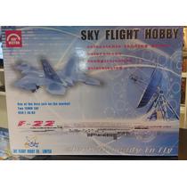 Aeromodelo Elétrico Jato F-22 Sky Flight Rtf
