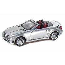 Mercedes Benz Slk55 Amg Silver Motormax 1/24 Escala Diecast