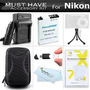 Must Have Accesorios Kit Para Nikon Coolpix S9900, S9500, S8