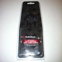 Cable Digital Ieee 1394 4-pin 6-pin Radio Shack