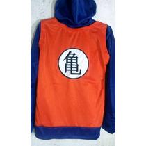 Chamarra Sudadera Dragon Ball Goku Bordado Nino/niña T-chica