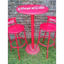 Mesa Y Sillas Coca Cola