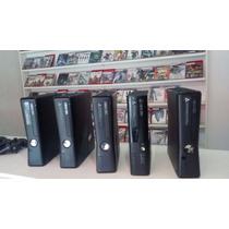 Xbox 360 Super Slim 4gb 2 Jogos Originais+ Frete 19,90.