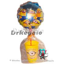 Vasos Glasse Con Globos Cotillones Infantiles Centros Mesa
