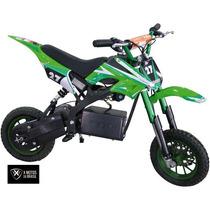 Mini Moto Eletrica Verde 350w X Motos