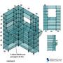Balcão De Vidro Modulado Caixa Cx019acp 1.2x0,90mt C Cromado