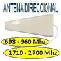 Antena Yagi Celular 3g 4g 698-960mhz 10dbi Wifi 1,7-2,7ghz