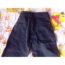 Pantalón Azul Bershka Talla 06 (38)