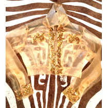 Exclusivo Alta Bordado Madrina 15 Coctail Campera Chaqueta