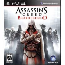 Assassins Creed Brotherhood Ps3 Mídia Física Novo & Lacrado!