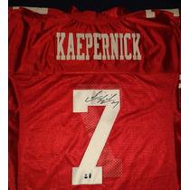 Jersey Firmado Colin Kaepernick San Francisco 49ers Nfl
