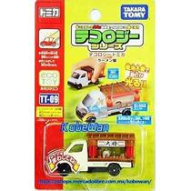 Tomica Tecology Ramen Shop Camion Tienda Takara Metalic 1/68