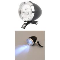 Luz Frontal Para Bicicleta Tipo Dinamo 3 Focos Alto Brillo