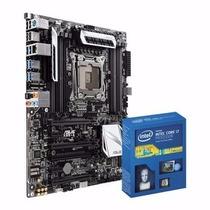 Kit Placa-mãe Asus X99-a + Processador Intel Core I7 5820k