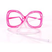 Óculos Canudo Divertido Estilo Chaves Pronta Entrega