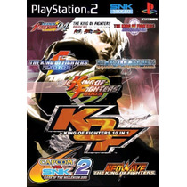 Patch The King Of Fighters 10 In 1 Ps2 Frete Gratis