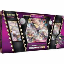 Box Pokémon Mega Mawile Ex Carta Gigante Moeda Broche Cards