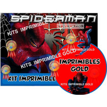Kit Imprimible Candy Bar Golosinas De Spiderman Hombre Araña