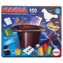Juego De Magia 150 Trucos Galera Con Compartimiento Antex
