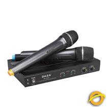 Dos Microfonos Inalambricos Mano Profesional Uhf 50 Metros