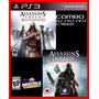 Assassins Creed Ac Revelations E Ac Brotherhood Ps3 Cód. Psn