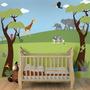 Plantillas De Pared Para Jungle Mural Jungle Theme For Baby