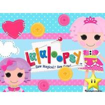 Kit Imprimible Lalaloopsy Muñecas De, Invitaciones Y Cajitas