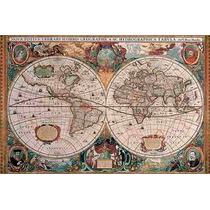 Rompecabezas Ravensburger De 5000 Piezas. Mapa Antiguo