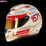 Casco Automovilismo Competicion Fernando Alonso 2013 India