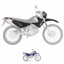 Kit De Carenagem Yamaha Xtz 125 - Até 2005 - S/ Ad - Azul