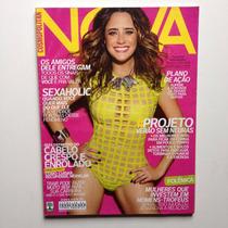 Revista Nova Nº481 Fernanda Vasconcellos Ano 2013