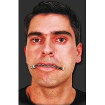 Dentadura Boca Zíper - Muito Engraçado - Frete R$ 9,90