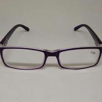 Óculos Para Leitura Descanso Roxo Grau +0,50 A +4,00 Barato