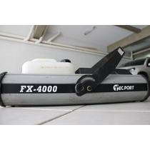 Máquina De Fumaça Tecport Fx 4000 Perfeito Estado