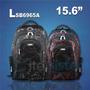 Mochila Skill Backpack 15.6 Black/red Itelsistem