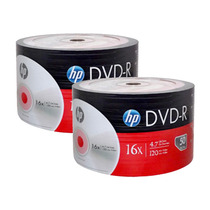 100 Dvd R Virgen Hp 4.7 Gb 16x Películas Datos