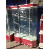 Aparador Diamante Exhibidor Vitrina Aluminio Mostrador
