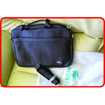 Bolso Porta Laptop Documentos Maletín Cartera Lacoste