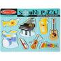 Melissa & Doug Musical Instrumentos Sonido Puzzle
