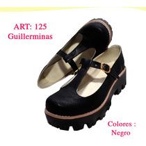 Zapato Mujer Guillermina Semicuero Primavera Getsemani Shoes