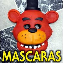 Mascaras Five Nights At Freddys Fnaf Goma Latex 3d Foxy